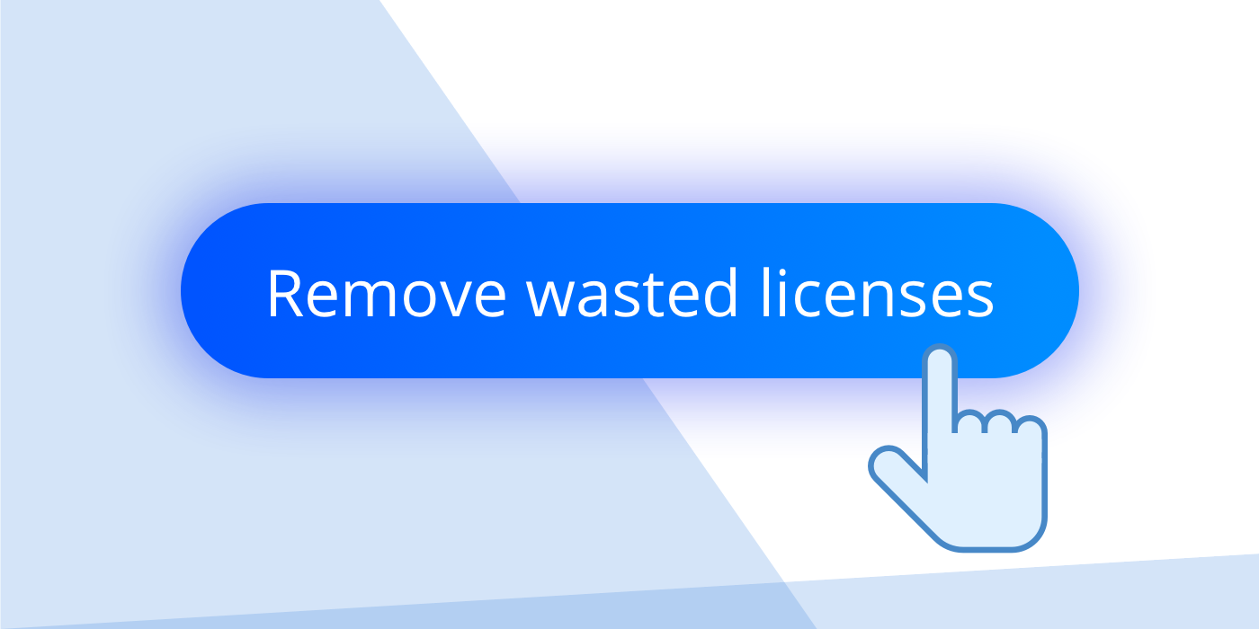 Remove wasted licenses